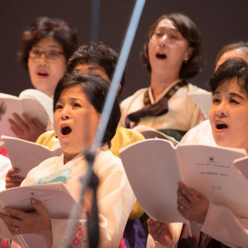 Coro Geumnarae & Wonum di Seul